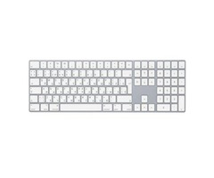 Apple Magic Keyboard with Numeric Keypad White