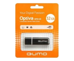 USB-накопитель Qumo Optiva 01 USB 2.0 32GB Black